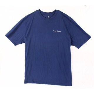 Tommy Bahama Blue Mens Size XL Locally Famous Graphic Tee T-Shirt