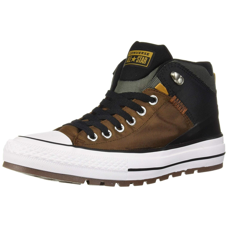Top Sneaker Boot, Chestnut Brown/Black