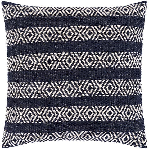 Iliana Striped Transitional Throw Pillow