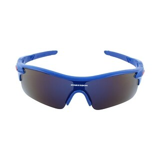 ROBESBON Authorized Outdoors Polarized Bike Riding Goggles Cycling Glasses Blue