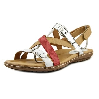 Earth Sandy Open Toe Leather Gladiator Sandal