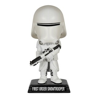 Star Wars The Force Awakens Funko Bobble Head First Order Snowtrooper - multi