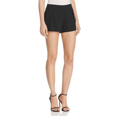 Parker Lifestyle Womens Alden Tailored Walking Dress Shorts, black, 10