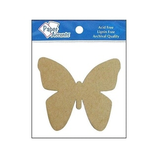 Chip Shape 8pc Butterfly Natural