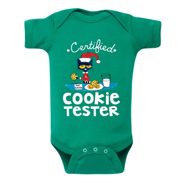 Pete The Cat Certified Cookie Tester-Infant One Piece