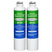 Replacement Water Filter For Samsung RF263BEAESR Refrigerator Water Filter by Aqua Fresh (2 Pack)