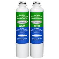 Replacement Water Filter For Samsung RS25H5111 Refrigerator Water Filter by Aqua Fresh (2 Pack)