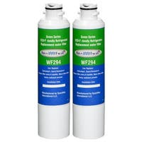 Replacement Water Filter For Samsung RS261MDBP Refrigerator Water Filter by Aqua Fresh (2 Pack)