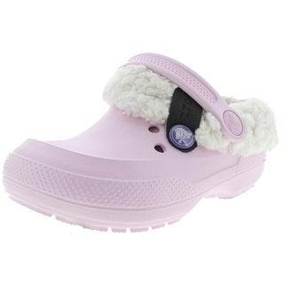 Crocs Girls Clogs Faux Fur Casual