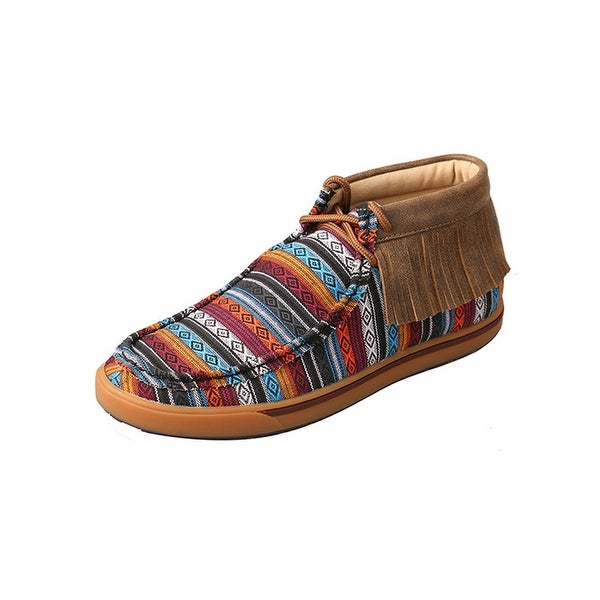 Twisted X Casual Shoes Womens Serape Driving Moc Multi-Color
