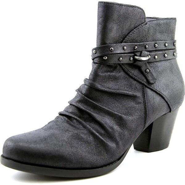 Baretraps Rainly Round Toe Canvas Ankle Boot