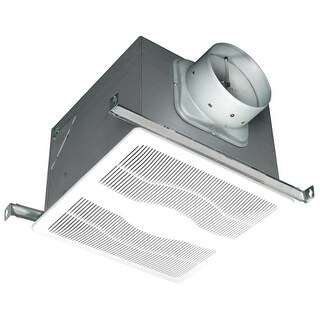 Air King D4D 120 CFM 0.3 Sones Ceiling Mounted HVI Certified Exhaust Fan with Du