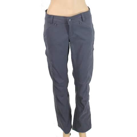 prAna Women's Pants Gray Size 2X30 Capris Cropped Stretch Convertible