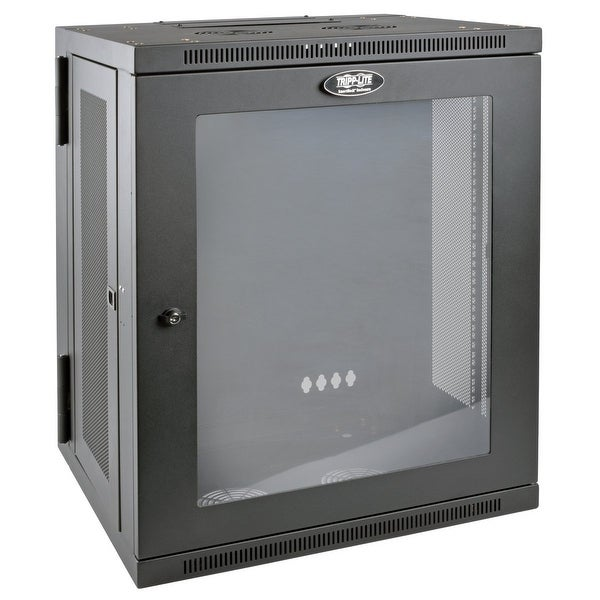 Tripp Lite Accessory Srw15us 15 U Wall Mount Std-Depth Rack Enclosure Cabinet