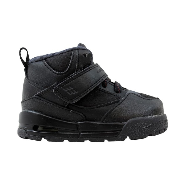 finest selection e40b1 bb134 Shop Nike Toddler Air Jordan Flight 45 TRK TD Black/Black ...
