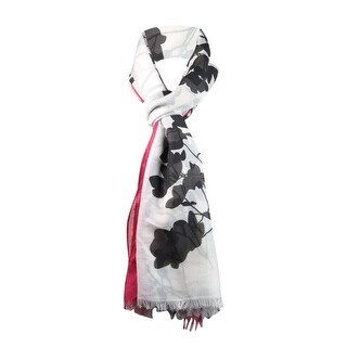 Style & Co. Women's Floral Print Oversized Wrap Scarf - os