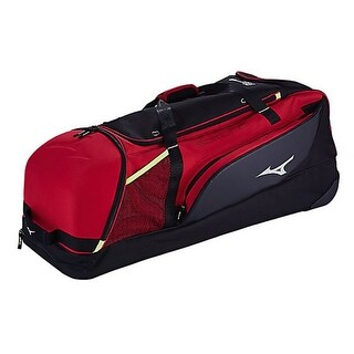 Mizuno Samurai Catcher's Wheeled Duffle Bag Baseball Softball Duffel 360271