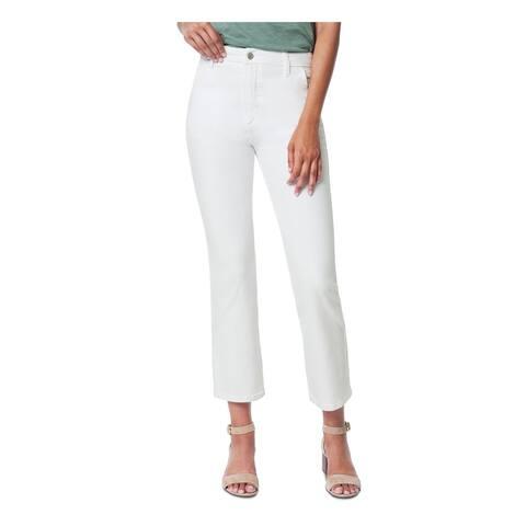 JOE'S Womens White Solid Capri Jeans Size 26 Waist
