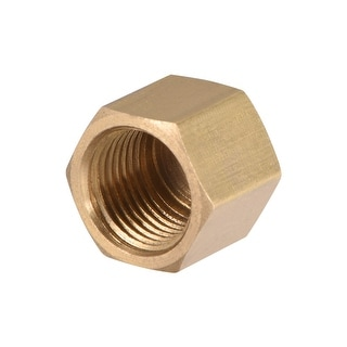 """Brass Cap, Hex Pipe Fitting 1/8""""G Female Pipe Connector - 1/8"""" G 1pcs"""