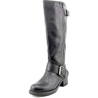 Mia Peterson Wide Calf Women Round Toe Synthetic Knee High Boot