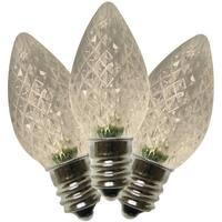 Holiday Bright Lights BU25LEDFC7-TWWA C7 LED Christmas Replacement Bulb, Warm White - Warm White