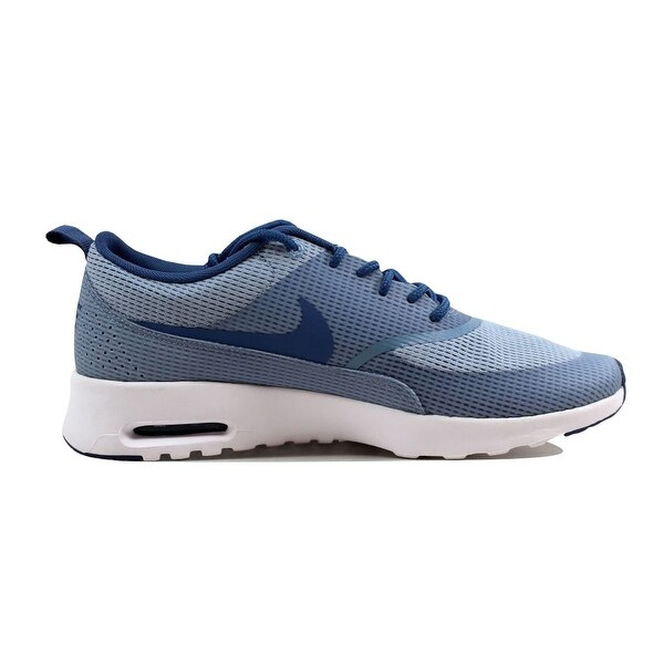 Shop Nike Women's Air Max Thea TXT Blue GreyOcean Fog White