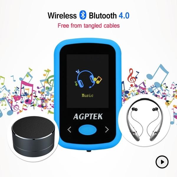 Shop AGPtEK MP3 Player Sport FM/Voice Recorder 8G HiFi Sound