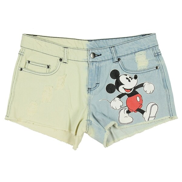 380875d49e Shop Disney Women's Juniors Daisy Duke's Style Denim Cutt Off Shorts ...