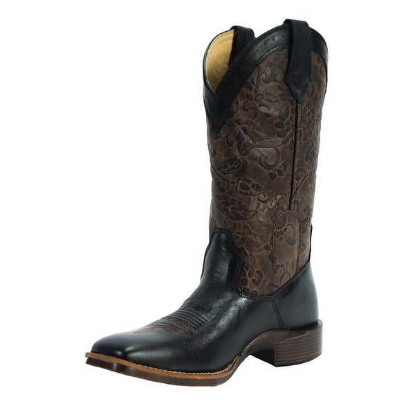 Noble Outfitters Western Boots Womens All Around Floral Embossed