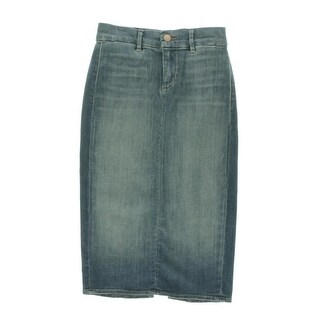 J Brand Womens Willa Ingenue Wash Knee-Length Denim Skirt