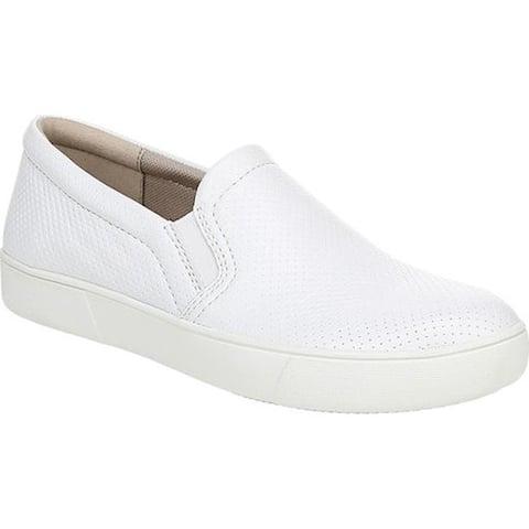 Naturalizer Women's Marianne Slip-on Sneaker White Leather