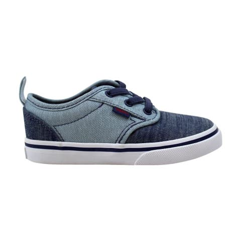 Vans Atwood Slip-On Blues Chambray VN0A2XSPMI9 Toddler