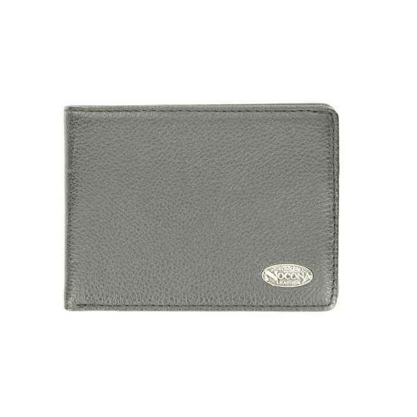 Nocona Western Wallet Mens Pass Case Smooth Classic Leather - One size