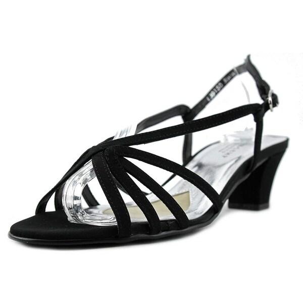 Mark Lemp By Walking Cradles Leash Women WW Open Toe Synthetic Black Sandals