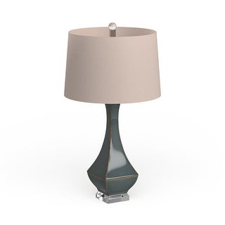 Link to The Curated Nomad Enclave Glazed Table Lamp Similar Items in Table Lamps
