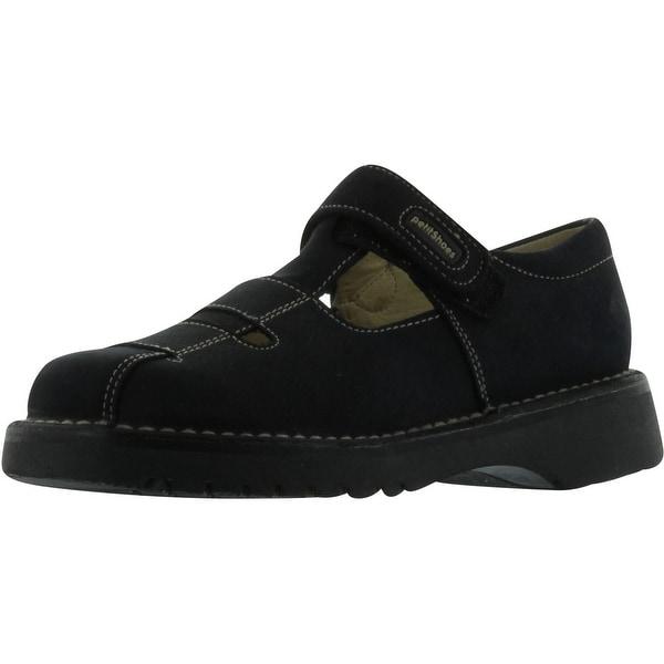 Petit Boys 60658 T Strap European Sandals - Navy - 31 m eu / 13 m us little kid