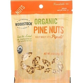 Woodstock Farms - Organic Pine Nuts ( 8 - 6 OZ)
