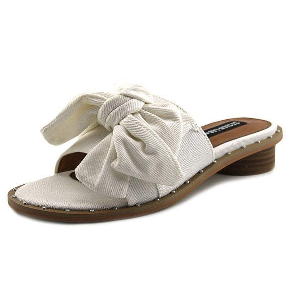 Design Lab Lord & Taylor Rio White Sandals