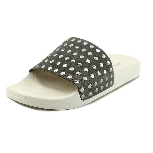 Lucky Brand Piyaa Steel Grey Sandals
