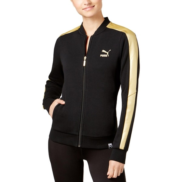 d99ce3926b47 Shop Puma Womens Track Jacket Stripe Crew - Free Shipping On Orders Over   45 - Overstock - 25583802