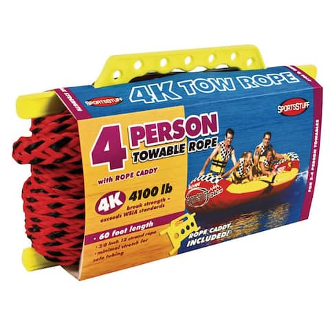 Sportsstuff 4k tow rope 4 person 57-1532