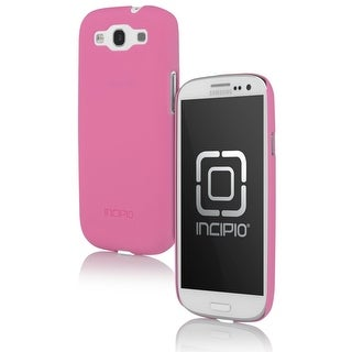 Incipio Ultralight Feather Case for Samsung Galaxy S3 - Neon Pink