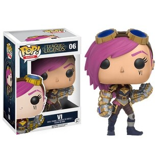 Funko Pop Games League Of Legends Vi Vinyl Figure Action Figure - multi