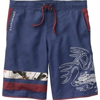 Legendary Whitetails Men's Freedom Swim Trunks - Ocean