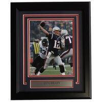 Tom Brady Framed 8x10 New England Patriots AFC Championship Game Photo