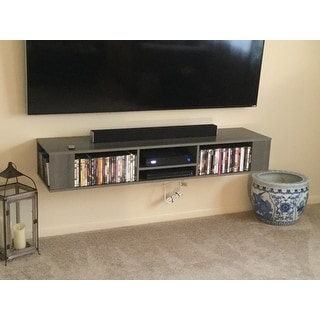 South Shore City Life 66inch Wall Mounted Media Console Free