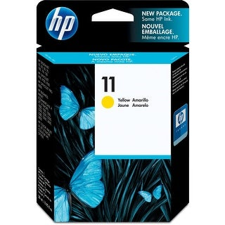Ink, Hp No 11 Yellow Ink Cartridge