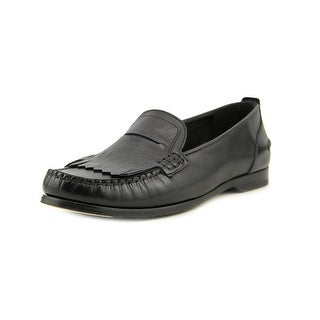 Cole Haan Alexa Moc Tassel Round Toe Leather Loafer