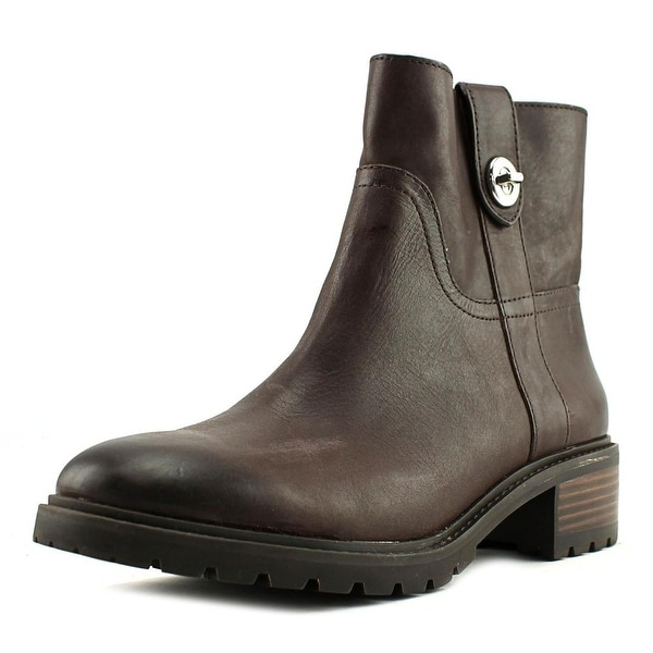 Coach Georgetta Women Chestnut Burnished Boots