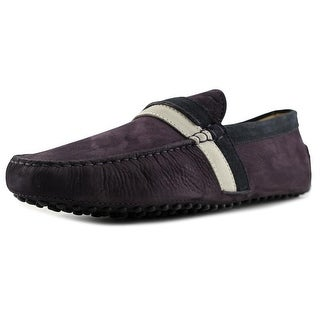Tod's Pantofola Scuba New Gommini 122 Moc Toe Suede Loafer